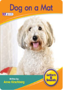 Dog on a mat